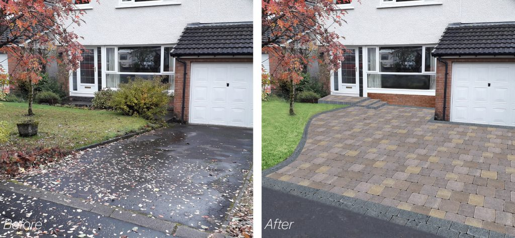Most popular choice of driveways