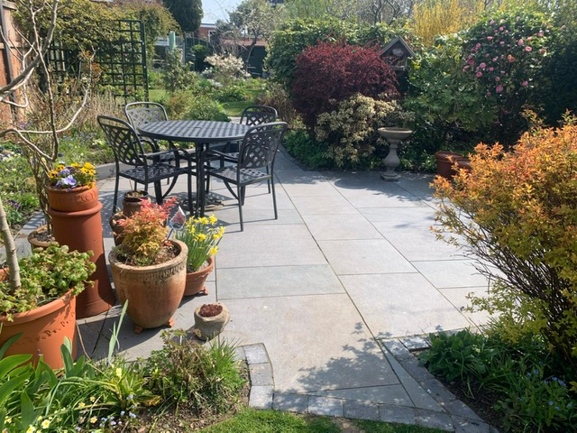 Clean patio Wythall Solihull