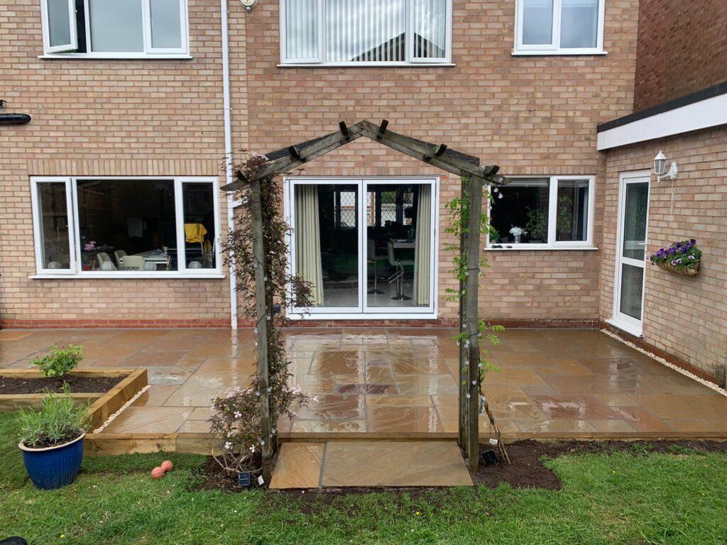 Natural Stone patio paving Cheswick Green Solihull