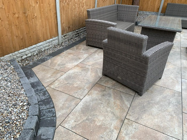 Attention to detail - patio design Wythall