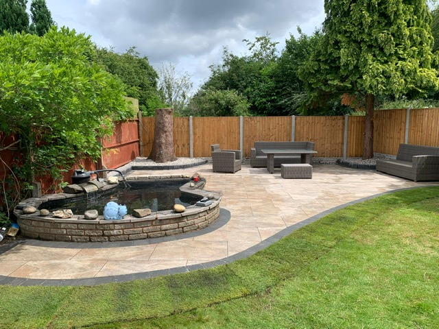 Landscaping in Wythall