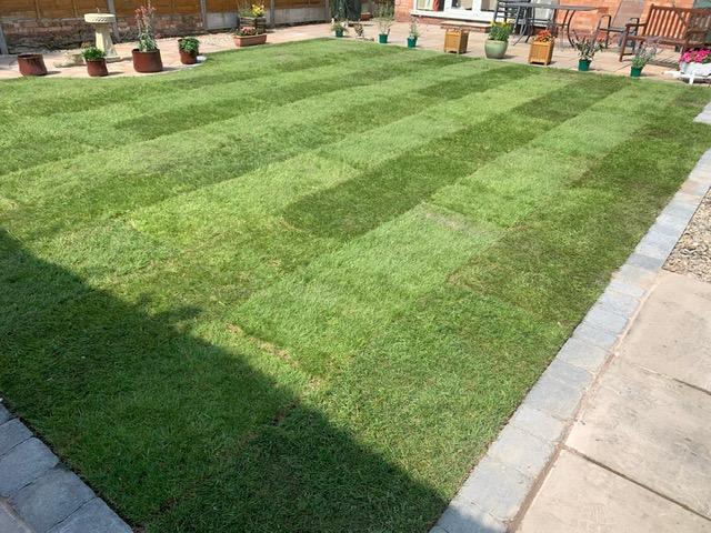 garden landscaping Solihull