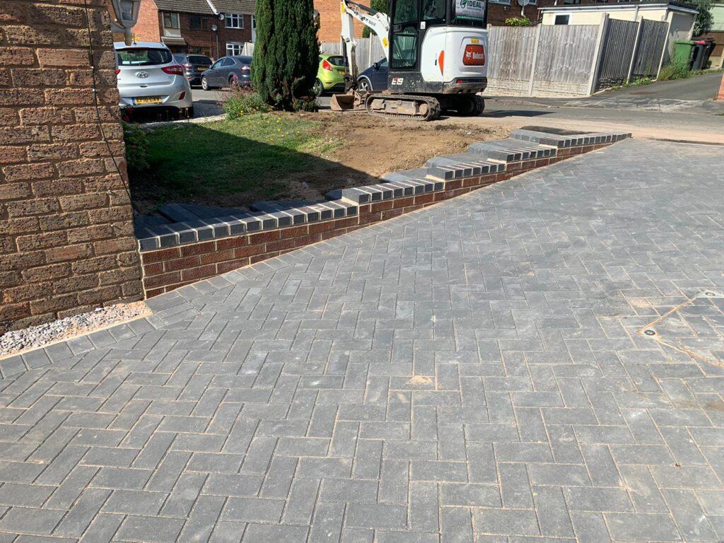 Block Paving Driveway in Nuneaton, Warwickshire