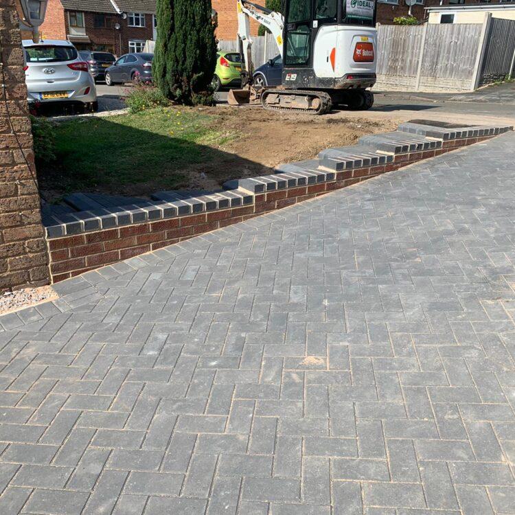New Block Paving Driveway in Nuneaton, Warwickshire